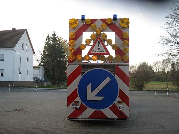Verkehrsicherungsanhänger